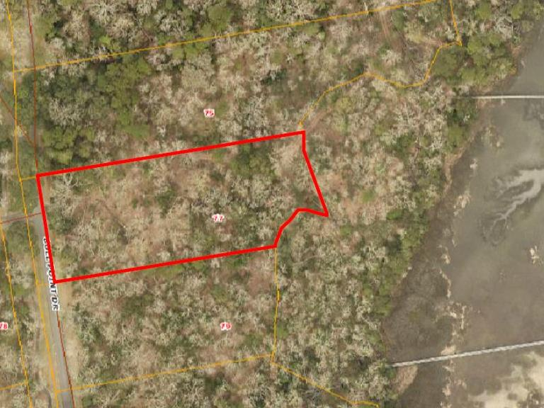 3.16 AC Marsh Front Residential Lot: Seabrook, SC