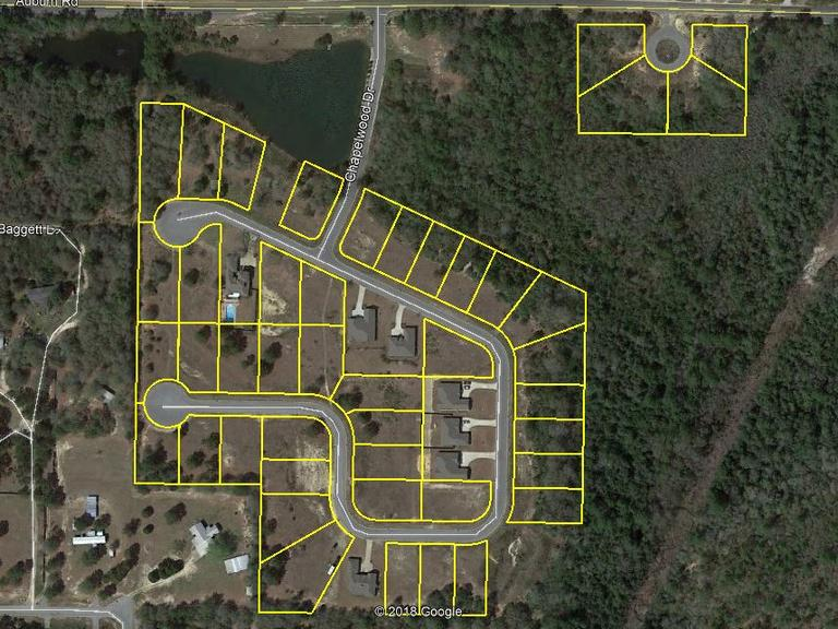 44 Residential Lots: Crestview, FL