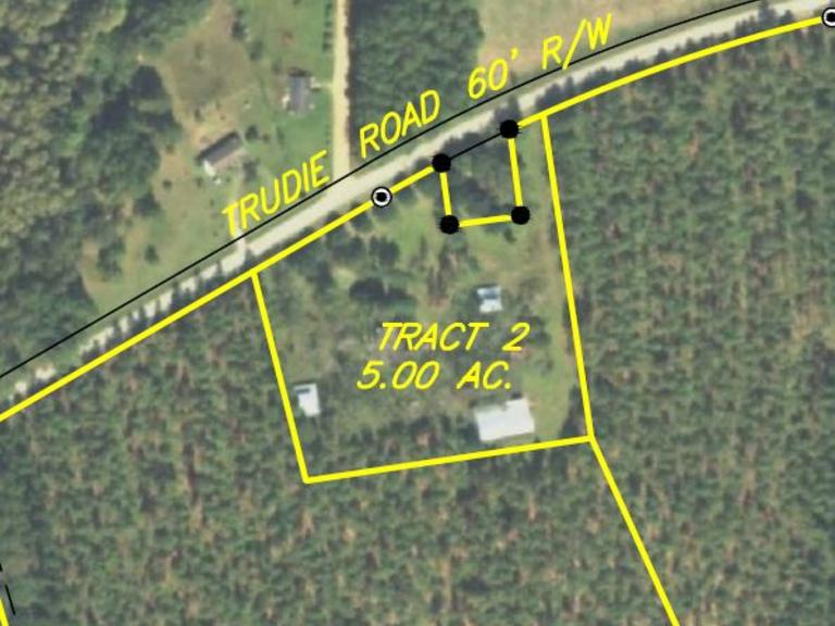 Tract 2: 5± AC and Home