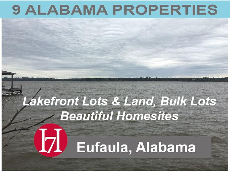 Eufaula Alabama Properties For Sale at Auction