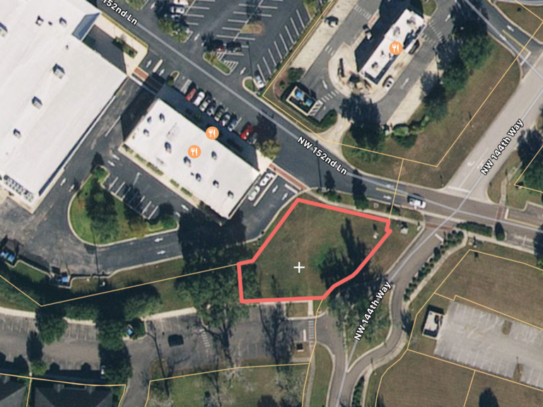 .26 AC Commercial Pad: Gainesville, FL