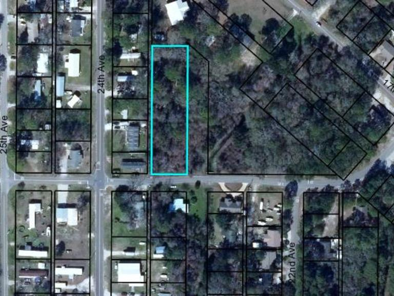 .80 AC Vacant Residential Land: Apalachicola, FL