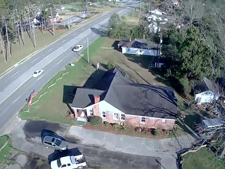 Corner Commercial Property With 5 Homes: Colquitt, GA